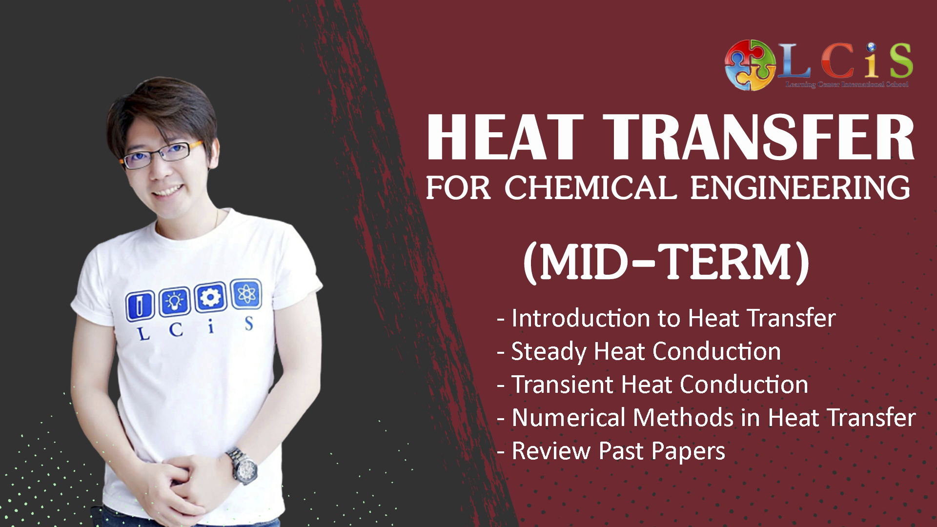 Heat Transfer for Chemical Engineer (AE-Mid)