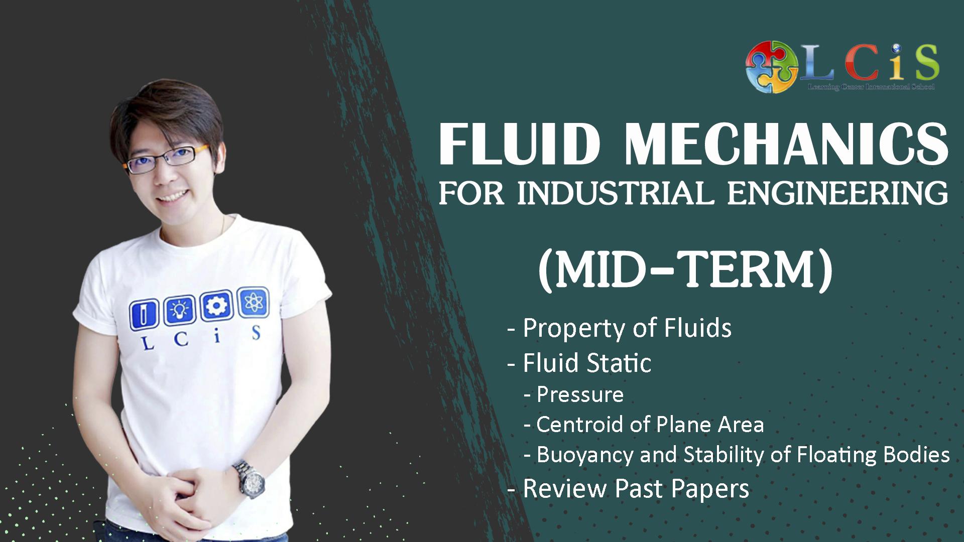 Fluid Mechanics for IE (Mid-Term)