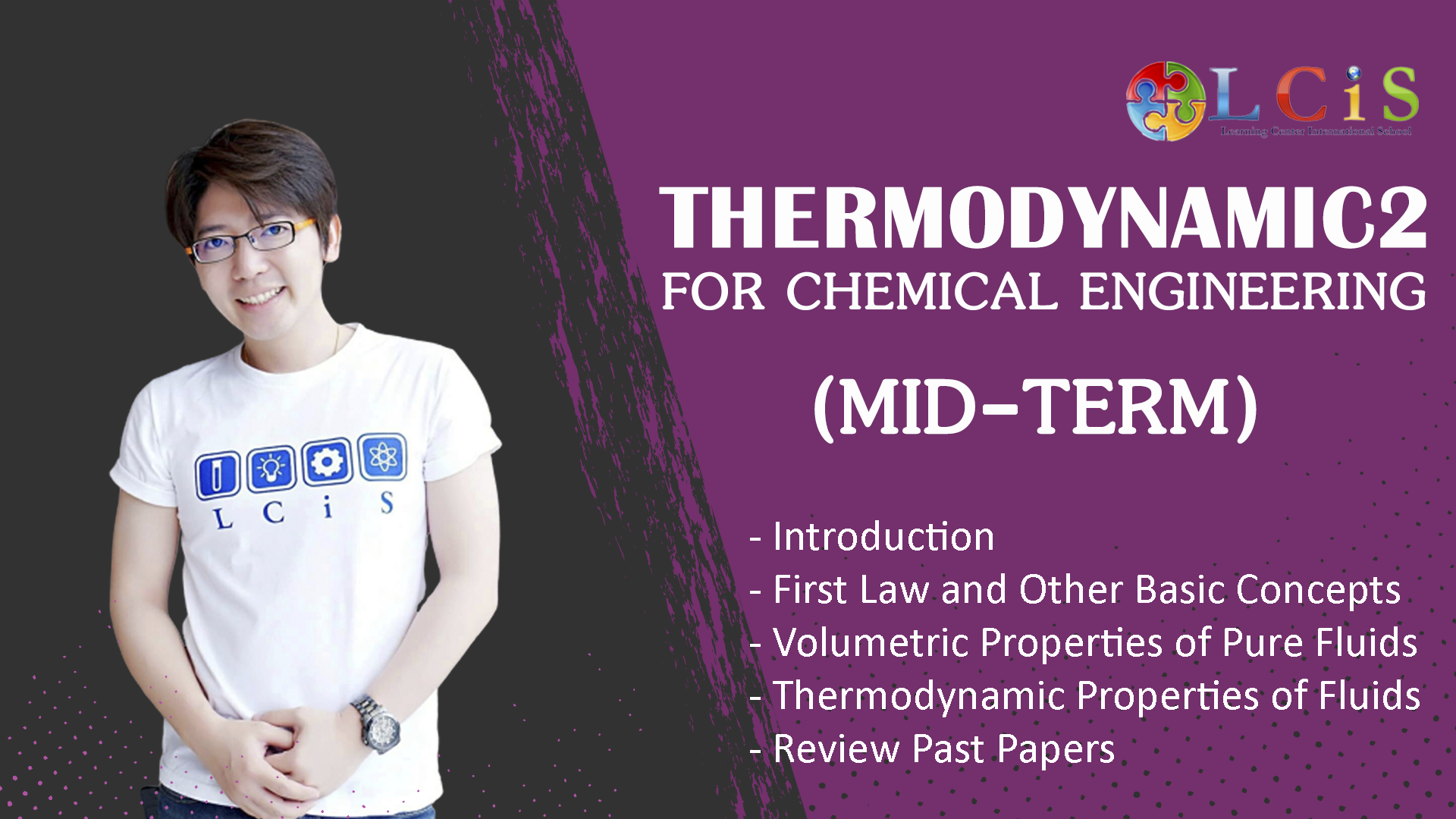 Thermodynamic2 for Chemical Engineering - Mid Term