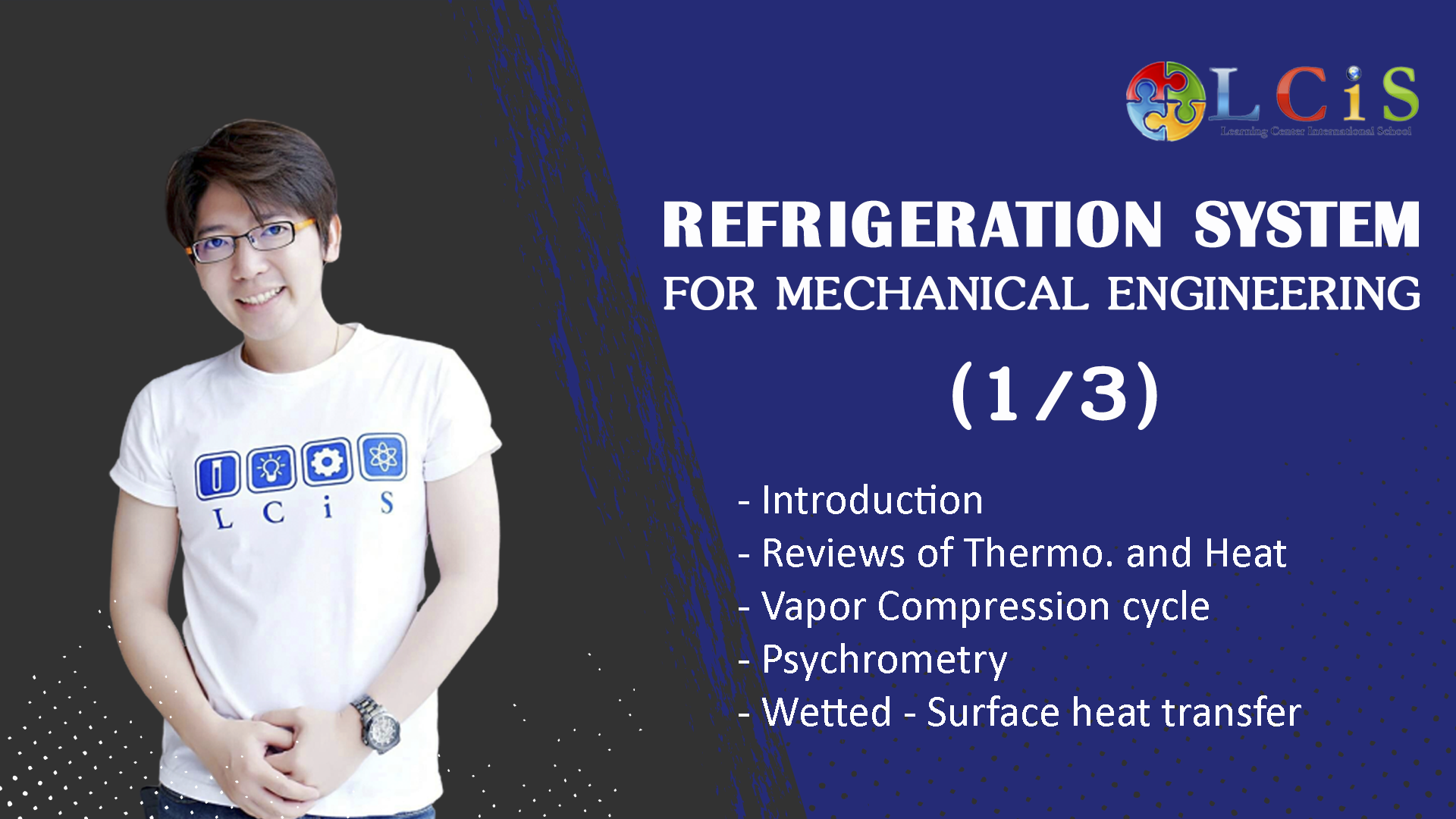 Refrigeration and Air Conditioning  (1 or 3)